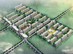北大章村新民居建设